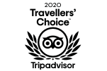 Tripadvisor Travellers' Choice badge for Oaksrest Vineyards